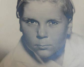 Antique Jackie Cooper postcard