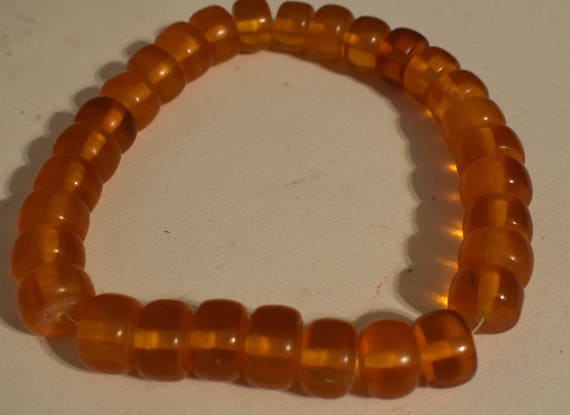 Beads Ethiopian Amber Round Resin Beads Jewelry Necklaces Bracelets Round Resin Beads