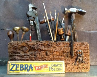 The family sized 'HOVIS' Tool/Painters/Kitchen Caddy - Over 200 year old Oak beam