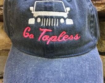 Ladies Jeep Hat Coral