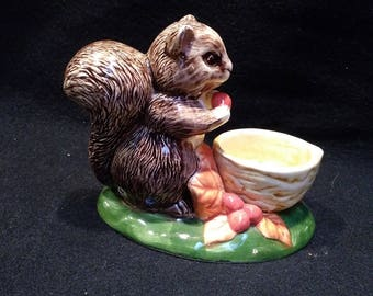 Squirrel Tea Light Holder  (1445)