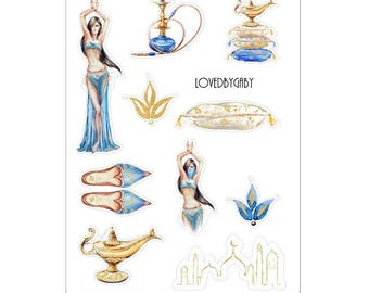 "LovedbyGaby stickers ""Arabian nights"""