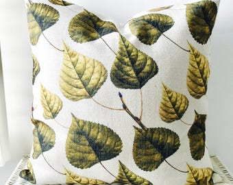 SALE Botanical cushion cover Botanical pillow cover 45x45cm