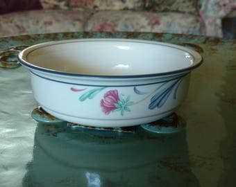 Lenox Poppies On Blue Soup/Cereal Bowl