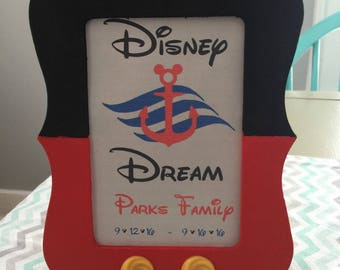 Mickey Mouse Frame great for fish extender gift disney cruise Small Quantity