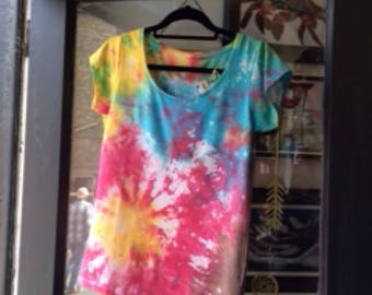 Tie dye shirt size 8