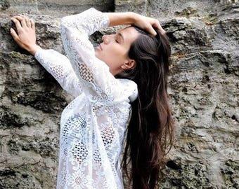 Lace top-vintage model Alessia