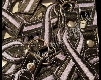 Lavender Ribbon Fundraiser Key Chains