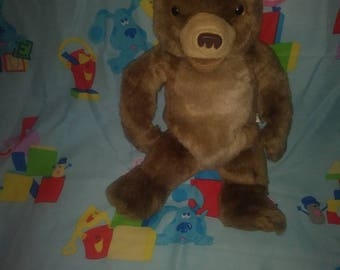 Large 15 inch talking little bear plush and free Little Bear Book