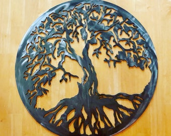 Tree of Life Metal Cutout