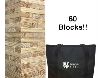 Giant Toppling Timbers with Carrying Case Free Shipping!!