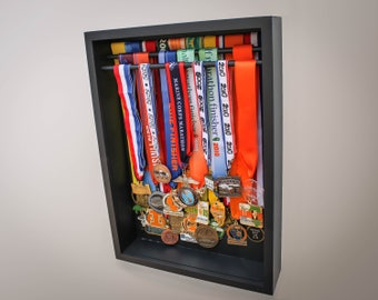 Sports medal display