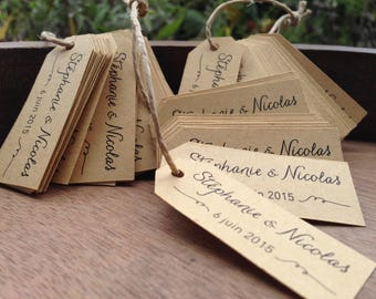 Custom labels for gifts, 10 pieces
