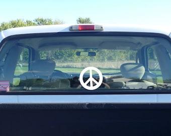 peace decal, peace sign, peace symbol, peace vinyl decal, peace sticker, peace sign decal, peace symbol decal, peace window sticker