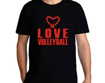 Love Volleyball Cool Style T-Shirt