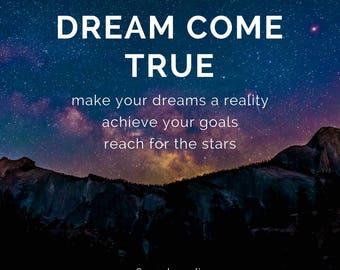 Dream Come True// Tarot Reading, Psychic Reading, Clairvoyant, Medium