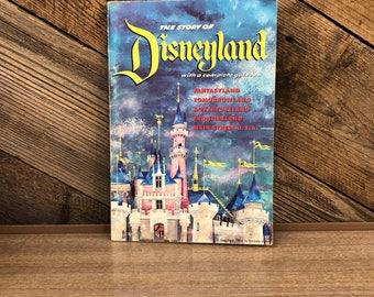 The Story Of Disneyland Souvenir Booklet