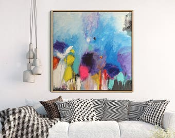 Abstract Painting, Giclee Print, Abstract Art print, Modern Art, Contemporary Art, colourful Art, Wall Decor