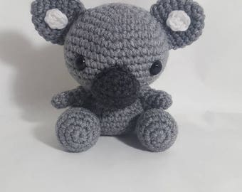 Crochet Koala, Amigurumi Koala, Koala Stuffed Animal, Koala Toy, Koala Doll, Koala Plush, Koala Stuffed Toy, Koala Stuffed Doll