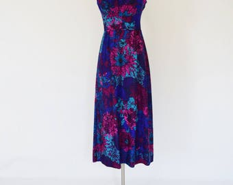 VTG Hawaiian Print Midi Dress