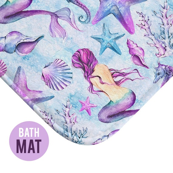 Mermaid Bath Mat - Available in Two Sizes