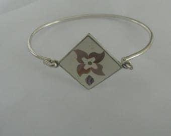 Vintage Abalone Bracelets, abalone bracelet, sea shell bracelet, Mother's Day Gift, handmade bracelet, womans boho bracelet, beach bracelet