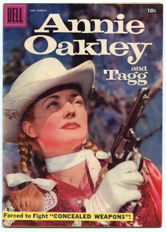 Annie Oakley and Tagg 14 Mar 1958 VG (4.0)