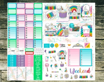 Party - Weekly Kit // Happy Planner