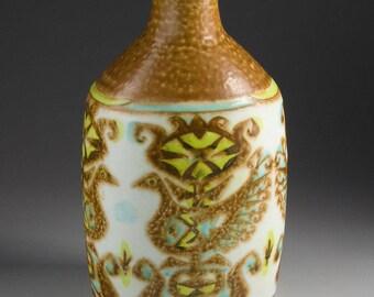 Royal Copenhagen Fajance - BACA - Nils Thorsson - Vase with birds