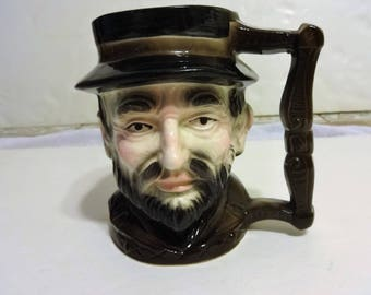 Vintage Gentleman's Head Mug. Made in Japan. Nice Shape