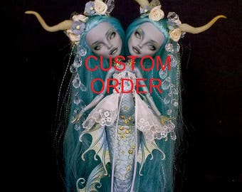 CUSTOM ORDER! Monster High repaint, Monster High OOAK, Custom Monster High, Not any doll is shipped from the pictures !!!