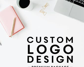 Custom Logo Design - Logo Design Package, Custom Logo, Business Logo, Logo Design Service, One-Of-A-Kind Logo