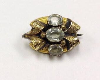 Small, antique, Victorian brooch.