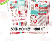 a La Carte | Sock Monkey Mini Kit | Erin Condren and Mambi  | MK020
