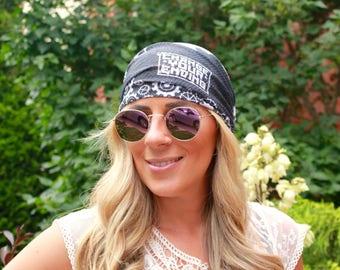 CLEARANCE!!! Yoga Headband, RAILWAY, Workout Headband, Running Headband, Fitness Headband, Womens Headband, Boho Headband