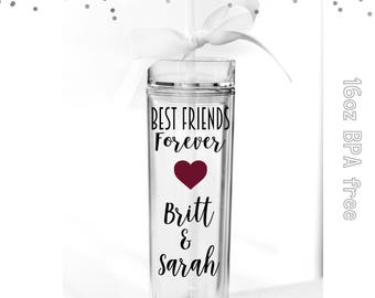 best friend gift, best friend cup, gifts for friend, besties gift, friendship gift, personalized, christmas gift, Bestie gift, gifts for bff