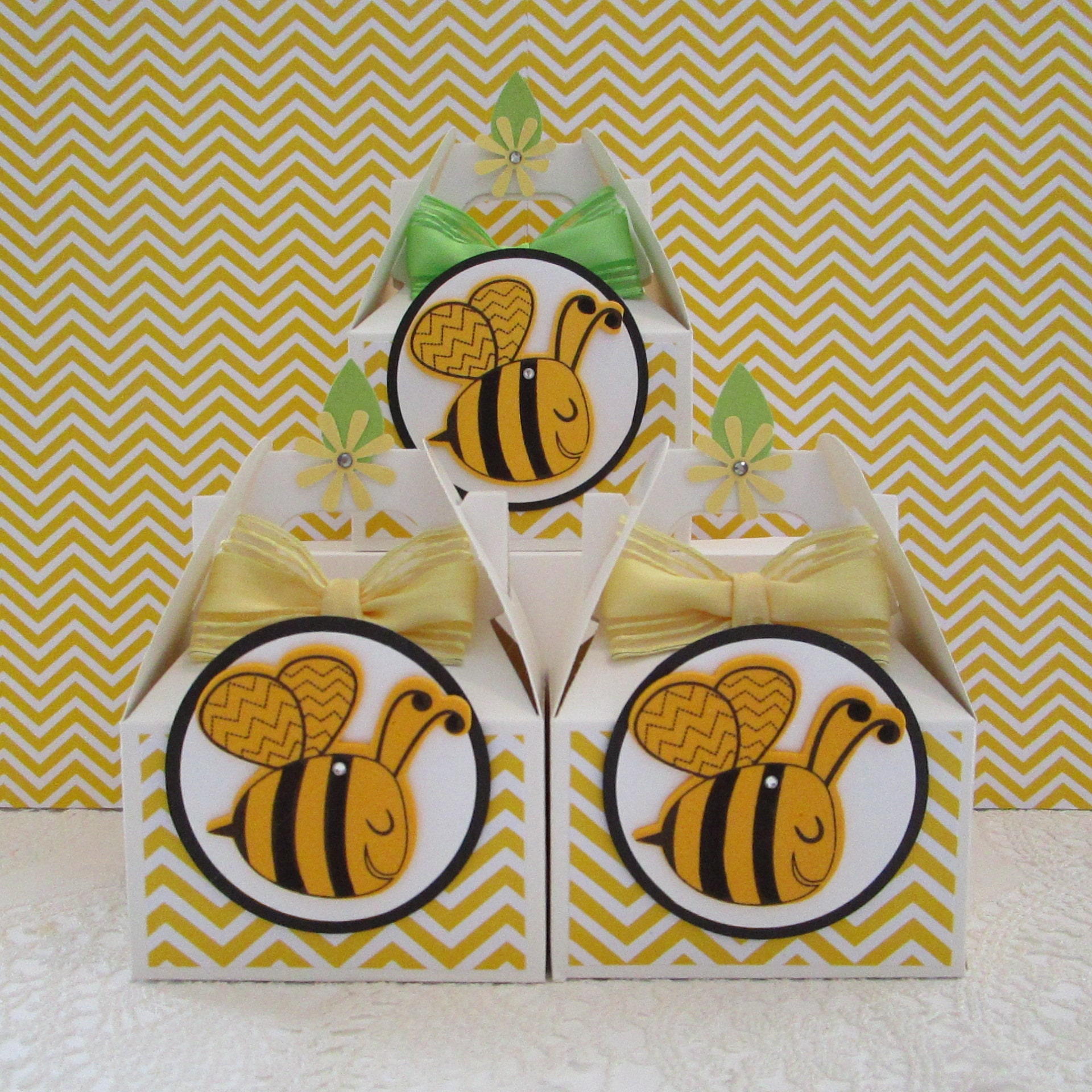 ONLY 3 SETS LEFTBumble Bee Favor Boxes Bumble Party
