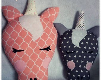 Unicorn custom medium / child / decoration / gift