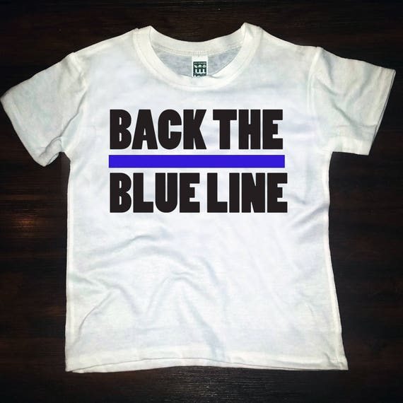 Back The Blue Line- tee