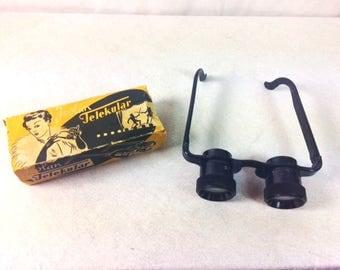 Isolan Telekular Theatre Binoculars with original Box - Vintage Binoculars