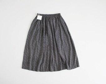 black and white polka dot skirt   90s skirt   full polka dot skirt