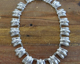 Vintage Mexican Sterling Silver Necklace