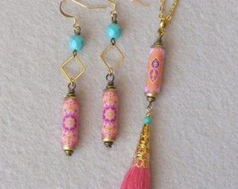 Womens Jewelry Sets, Boho Jewelry, Bollywood Jewelry, Indian Jewelry, Bohemian Jewelry, Oriental Earrings, Ethnic Jewelry, Native Jewelry