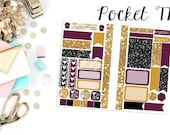 BWWPC Pocket TN Kit | Pocket Traveler's Notebook | Planner Stickers
