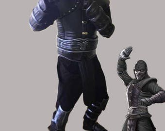 Mortal Kombat 9  Noob Saibot complete cosplay costume with boots, mask and accessories with possible 5 step deferred payment plan