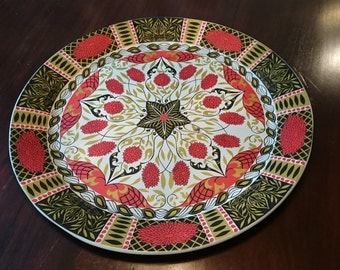 Fabulous Vintage Tole Serving Tray/ Mid Century Tray/19 inches