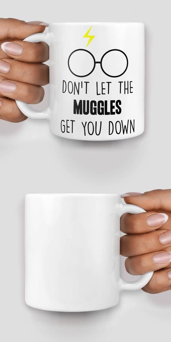Harry P muggles inspired mug - Christmas mug - Funny mug - Rude mug - Mug cup 4P098