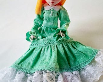 Monster doll Dress High / Clothes for dolls.