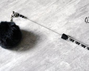 FurryCat Liquorice - Feline fur cat and kitten toy