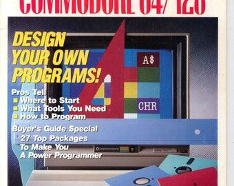 Compute!'s Gazette Magazine April 1989 Very Good